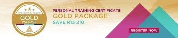 Trifocus fitness academy - gold package registration