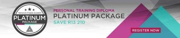 Trifocus fitness academy - Platinum package registration